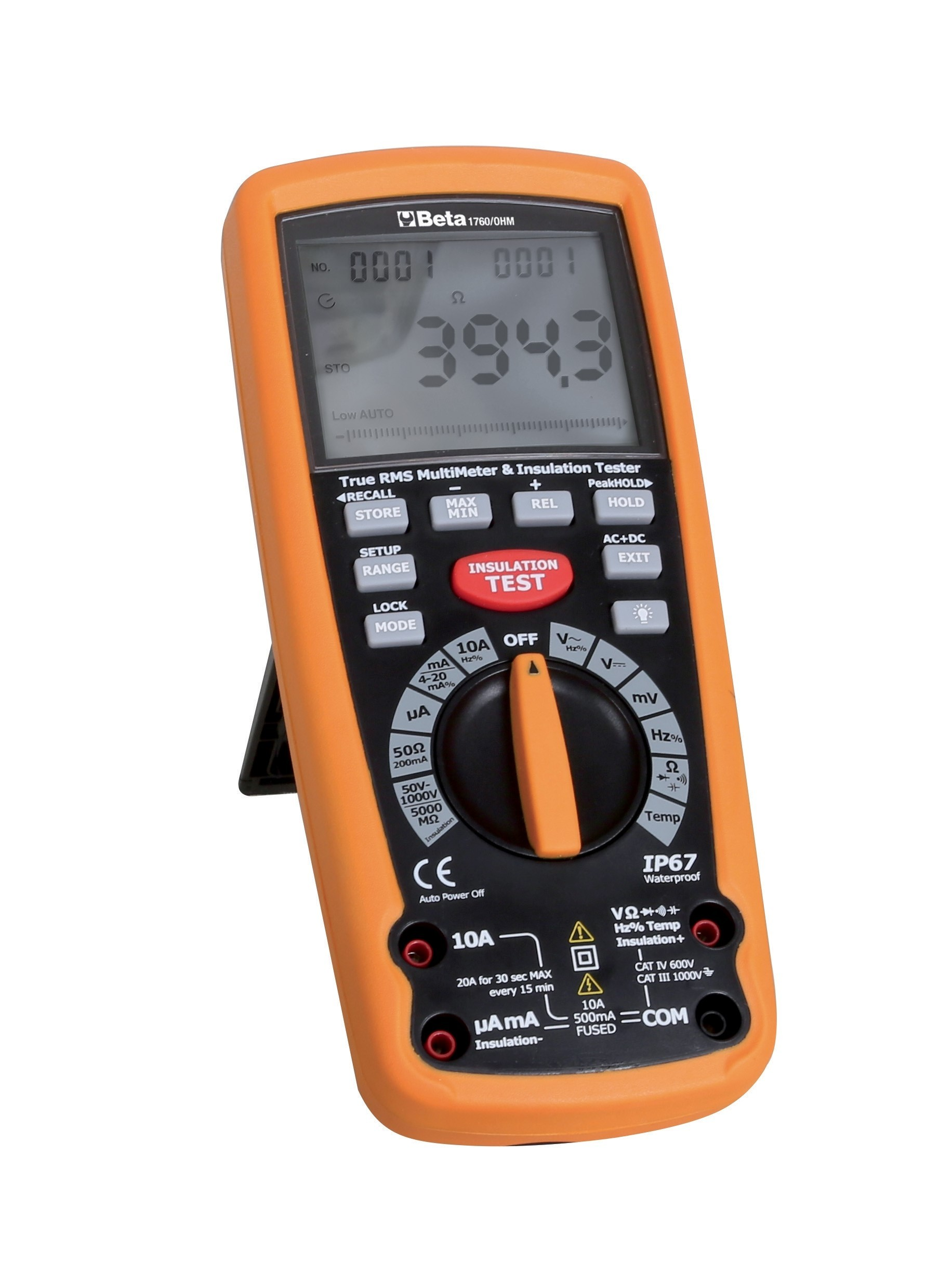Beta weerstandsmeter en multimeter 1760/OHM