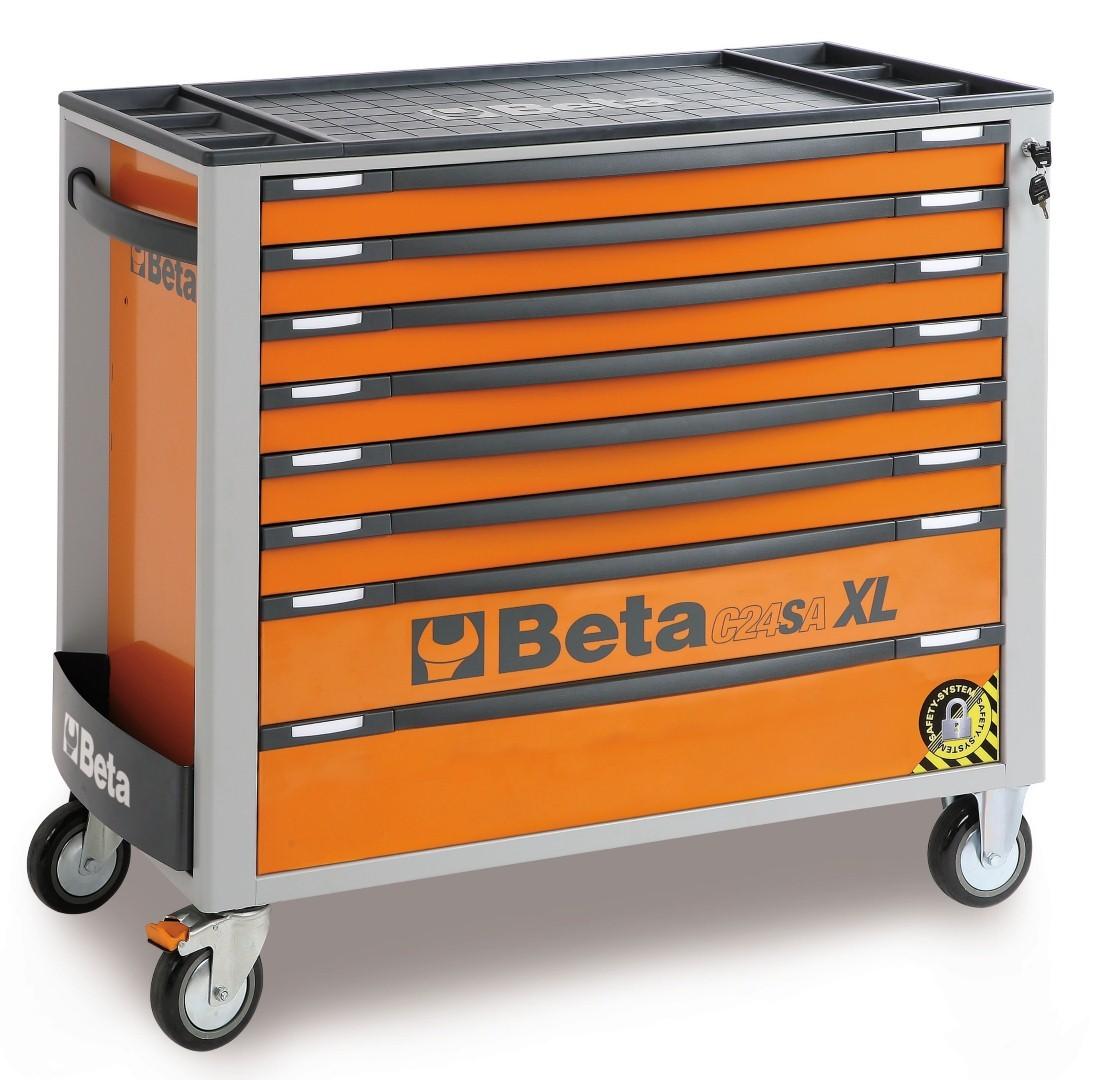 C24SA-XL grote gereedschapswagen van Beta