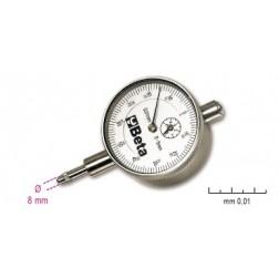 analoge meetklokken met uitlezing 0.01 mm