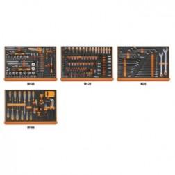 5988L/4M273 delig assortiment gereedschappen in EVA foam inlegbakken