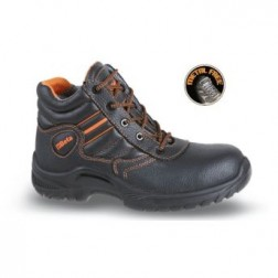 07201BKK Volnerf leren hoge schoen, waterafstotend