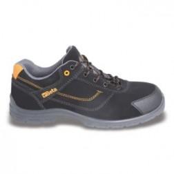 Werkschoen 7214FN Actieve nubuck schoen, waterafstotend, met schuurbestendige inzetstuk op het neusgedeelte