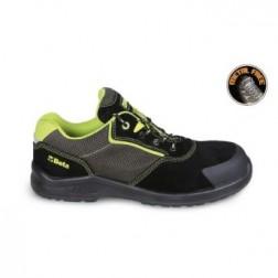 Beta 7223PEK Suede schoen met sterk ventilerende inzetstukken en schuurbestendige versteviging op het neusgedeelte