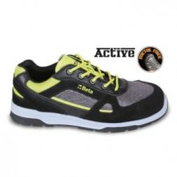Beta 7314AF licht gewicht werkschoen Suede schoen met nylon net en koolstof inzetstukken