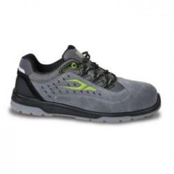 Beta7317NA werkschoen Suede schoen, geperforeerd, met microfiber versteviging inzetstukken in het hielgedeelte