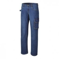 Beta 7528 werkbroek Stretch spijkerbroek, 98% katoen, 2% stretch