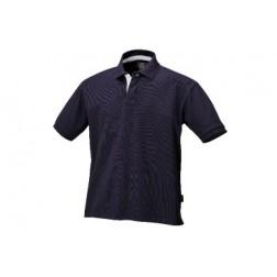 polo shirt 100% katoenen piqué blauw