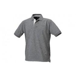 polo shirt 100% katoenen piqué grijs