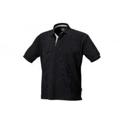 polo shirt 100% katoenen piqué zwart