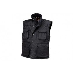 waterafstotende bodywarmer in ripstop