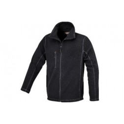 microfleece trui zwart
