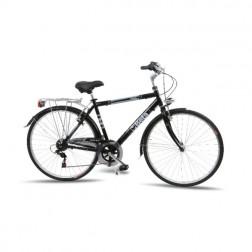 """Beta stadsfiets, 49 cm hoogte aluminium frame, Shimano® 6 versnelling, V-brake®, 28"""" wielmaat  aluminium velgen"""