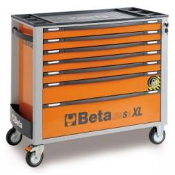 C24SA-XL gereedschapswagen met 7 laden en omvalbeveiliging