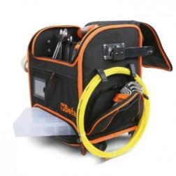Beta verrijdbare gereedschapstas, vervaardigd uit technisch textiel, voor de elektricien