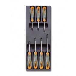 7 Torx-schroevendraaiers T6 T7 T8 T9 T10 T15 T20