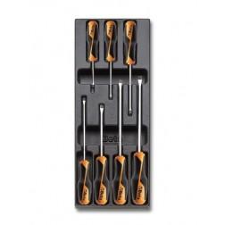 4 gewone 3 4 5½ 6½ mm 3 Pozidriv-Supadriv PZ0 PZ1 PZ2 schroevendraaiers